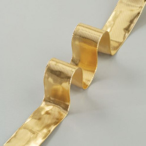Drahtband Gold, 40 mm, gold, 25 m