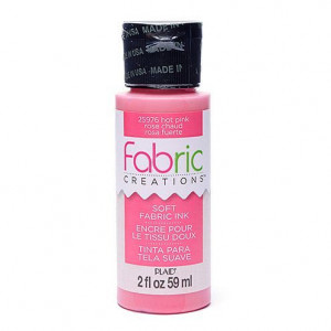 Fabric Creations™ Stempelfarbe, 59 ml, hot pink