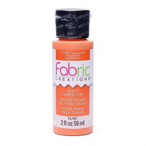Fabric Creations™ Stempelfarbe, 59 ml, tangerine