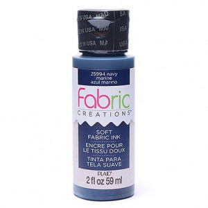 Fabric Creations™ Stempelfarbe, 59 ml, navy